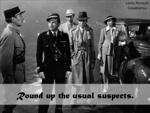 Round-up-the-usual-suspects