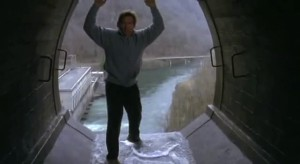 the fugitive harrison ford dam scene