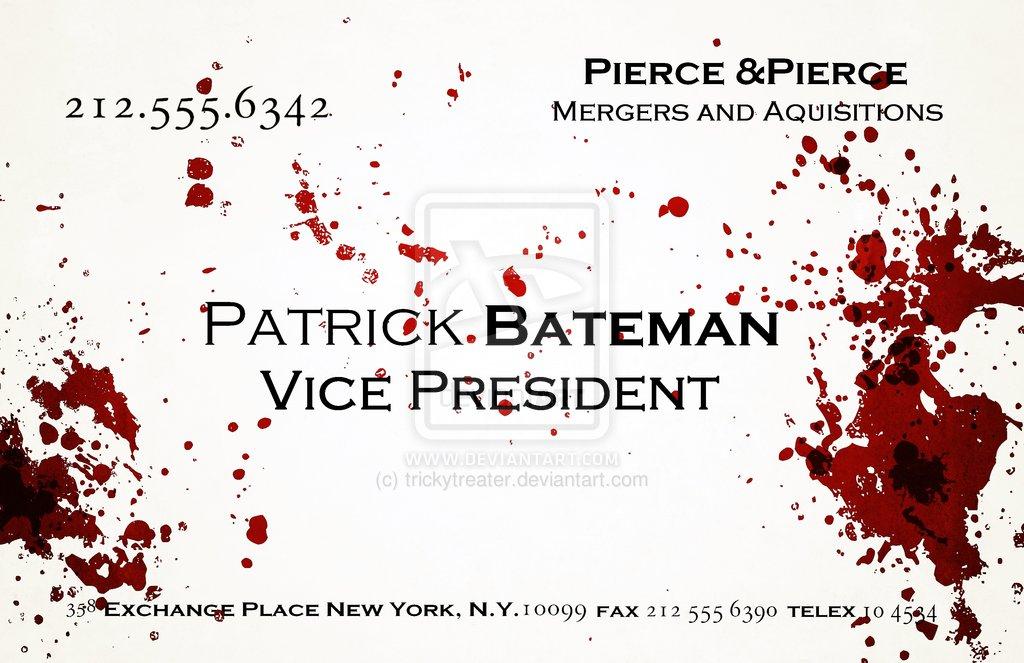Movie Psychos, Script Gods Must Die, American Pscyho | Script Gods